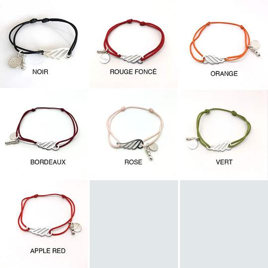 bracelets ailes couleurs