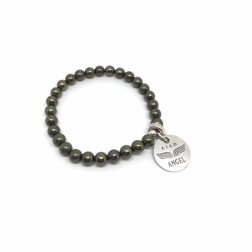bracelet pyrite web
