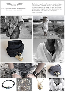 lookbook coquillage et inspiration bali
