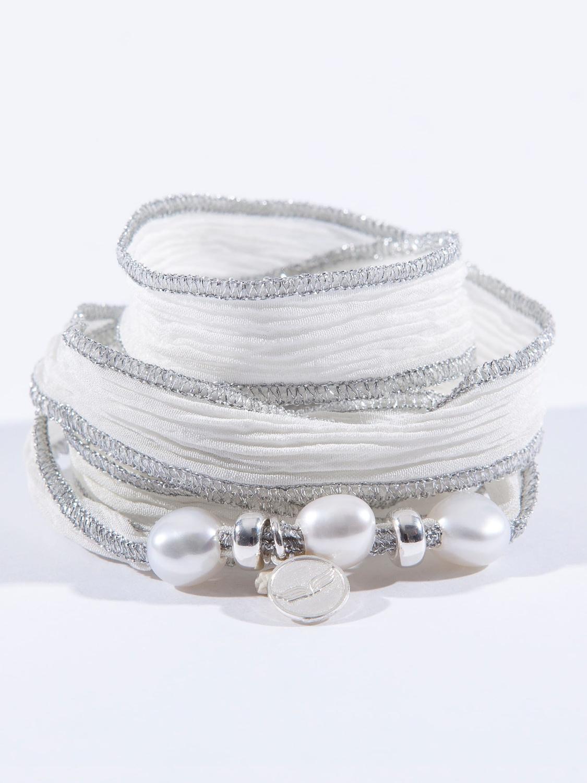 collier perle paris lettre