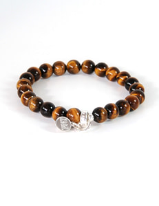 gemstone bracelet tigereye 904 web