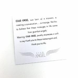 message ciao angel - english